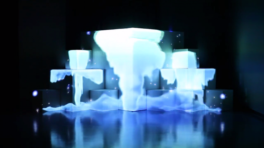 9_cubes_-_Projection_Mapping